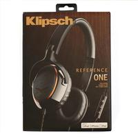 Klipsch Reference ONE Premium On-Ear Headphones with Mic and Apple Control (Black)