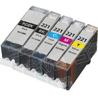 $0.99 + $3.99 Shipping5-pack of New Compatible PGI-220, CLI-221 Series Combo Pack of 5 Inkjet Cartridges