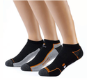 $12.9912 Pairs of Fila Men's Low Cut Dry Fit Ankle Socks