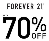 Up to 70% Off Forever 21 Sale + 1000+ new markdowns