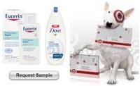 Free Dove Body Wash and Eucerin Lotion Samples
