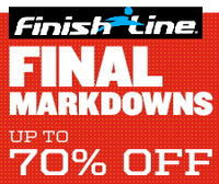 Up to 75% off select items + $10 off $75, more Finish Line Clearance
