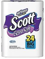 $21.25120 Scott Extra Soft Bath Tissue Big Rolls