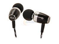 Rosewill RHTS-12008 3.5mm Gold-Plated Connector Canal Premium Passive Noise Isolating Metal Earbuds