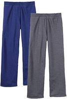 $10 Hanes Women's EcoSmart Solid Fleece Sweatpants 2-Pack