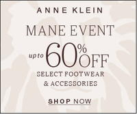 Up to 60% OffAnne Klein 24-hr Flash Sale on Select Footwear & Accessories
