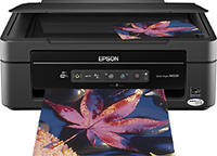 $49.99 Epson - Stylus Small-in-One Wireless All-In-One Printer - NX230