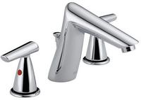 Delta 3582 Urban Chrome Widespread Bathroom Faucet