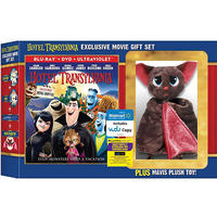Hotel Transylvania (Blu-ray + DVD + Plush Toy)