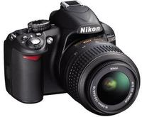 $359.95 Nikon D3100 14.2 MP Digital SLR Camera w/18-55mm G VR DX AF-S Zoom Lens Refurb