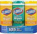 Clorox 105-Count Fresh Scent Disinfecting Wet Wipes