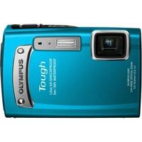 $99 Olympus TG-320 14 MP Tough Series Camera with 3.6x Optical Zoom (Blue)