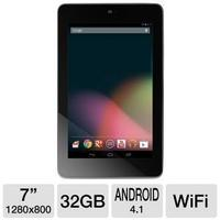 ASUS Google Nexus 7 32GB Android JB 4.1 Tablet (Refurbished)