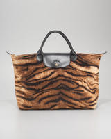 Longchamp Le Pliage Tigre Handbag, Medium