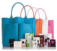 Free exclusive tote  with beauty samples with any beauty purchase of $125 @ Neiman Marcus