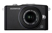 $199.95Refurbished Olympus E-PM1 Micro 4/3 Camera w/ lens