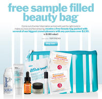 Free Samples Filled Bag($180 Value)with Any $130 Purchase @Bliss