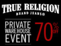 Up to 70% OffPrivate Warehouse Event @True Religion