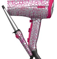 $31.19 Remington Pretty Fierce Crackle Curling Wand and Dryer