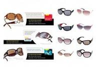 9 Pairs of Women's Sunglasses