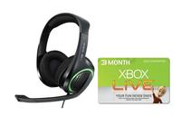 Sennheiser X320 G4ME Premium Xbox Gaming Headset + 3 Month Xbox Live Gold Member
