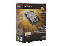 "TOSHIBA PH3300U-1I72 3TB 7200 RPM 64MB Cache SATA 6.0Gb/s 3.5"" Internal Hard Drive -Retail Kit"