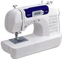 Brother CS6000i Feature-Rich Sewing Machine with 60 Built-In Stitches, 7 styles of 1-Step Auto-Size Buttonholes, Quilting Table, and Hard Cover @ Amazon Lightning Deal