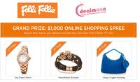 Win $1000 Folli Follie Shopping Spree atFolli Follie and Dealmoon Giveaway Event