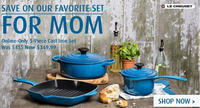 5-Piece Cast Iron Set (Online Only) + Free Shipping@ Le Creuset
