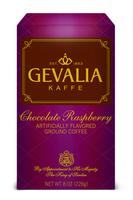 $19.994 boxes of Gevalia coffee or tea, stainless steel canister & scoop