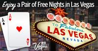 2 Nights Freewhen you book a flight + hotel Las Vegas package for 4 nights or more