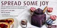 Free Jam Jar Set($35.99 Value)on Purchase of $150 or More @Le Creuset