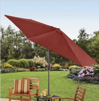 $47.999' Patio Umbrella That Cranks And Tilts, Available in 4 colors