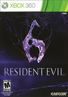 $9.99Used Resident Evil 6 Xbox 360 or PS3