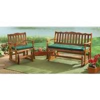 Hardwood Patio Glider