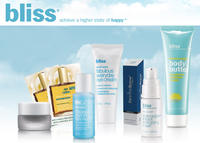 Choose 4 free deluxe-sized Sampleswith any Purchase of $75 or More@Bliss