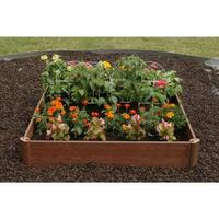 "$21.73 Greenland Gardener 42"" x 42"" Raised Bed Garden Kit"