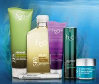 25% offentier site at H2O+ and Free Gift($56 value) with $100 Purchase