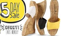 Up to 50% off+ extra 25% off 5-Day Sale @Payless