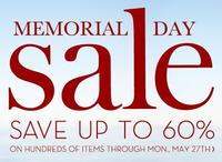 Up to 60% OFFMemorial Day Sale + free shipping @Pottery Barn
