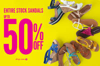 Up to 50% off+ Extra 20% offSelected Sandals @ Payless