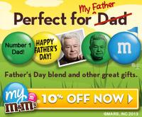 10% Offon orders over $99 @ My M&M's