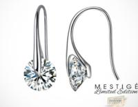 Crystal Eclipse earrings by Mestigé (Made with Swarovski Elements) @ LivingSocial