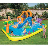 Banzai Animal Friends Splash Water Slide