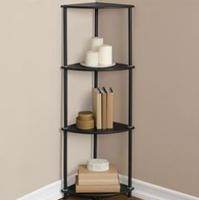 4-Shelf Corner Tower