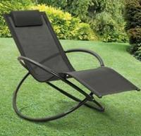 Textilene Rocking Moon Lounger