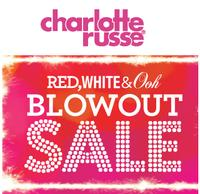 From $5Charlotte Russe Red, White and Ooh! Blowout Sale!
