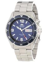 $110.99 Orient Men's Blue Mako Automatic Dive Watch CEM65002D