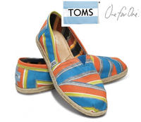 Up to 40% Off TOMS Women's, Men's and Kids' Shoes and Sunglasses on sale @ Zulily