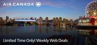 From $137One way flights to Canada